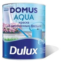 Dulux Domus Aqua-Полуматовая водно- дисперсионная краска для деревянных фасадных поверхностей