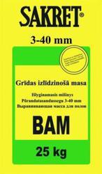 Смесь для выравнивания пола BAM 2-40mm BAM (25 кг)