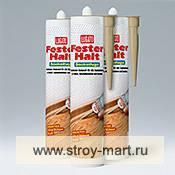 Акриловый герметик для паркета, плинтусов, ламината и других деревянных полов Lugato (Люгато) Fester halt Sockrfluge