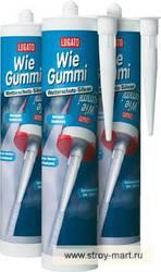 Силиконовый нейтральный герметик для наружного примерерия Lugato (Люгато) Wie Gummi Wetterschutz-Sillicon